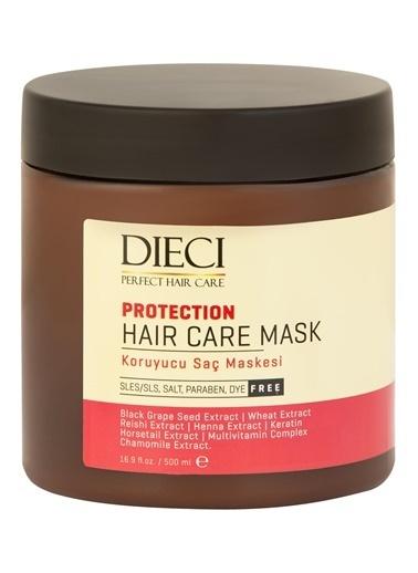 Dıecı Dıecı Saç Maskesi Protectıon Koruyucu Tuzsuz 500 Ml Renksiz